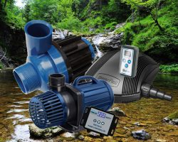 Beste vijverpompen: goed, zuinig en regelbare vijverpomp