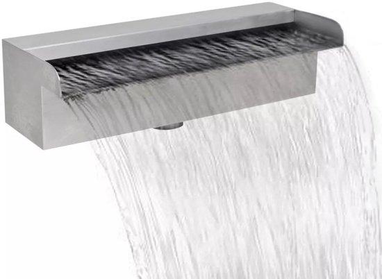 Verbazingwekkend Mooiste waterval voor vijver uit RVS inspiratie en tips - AboutKoi ZF-73