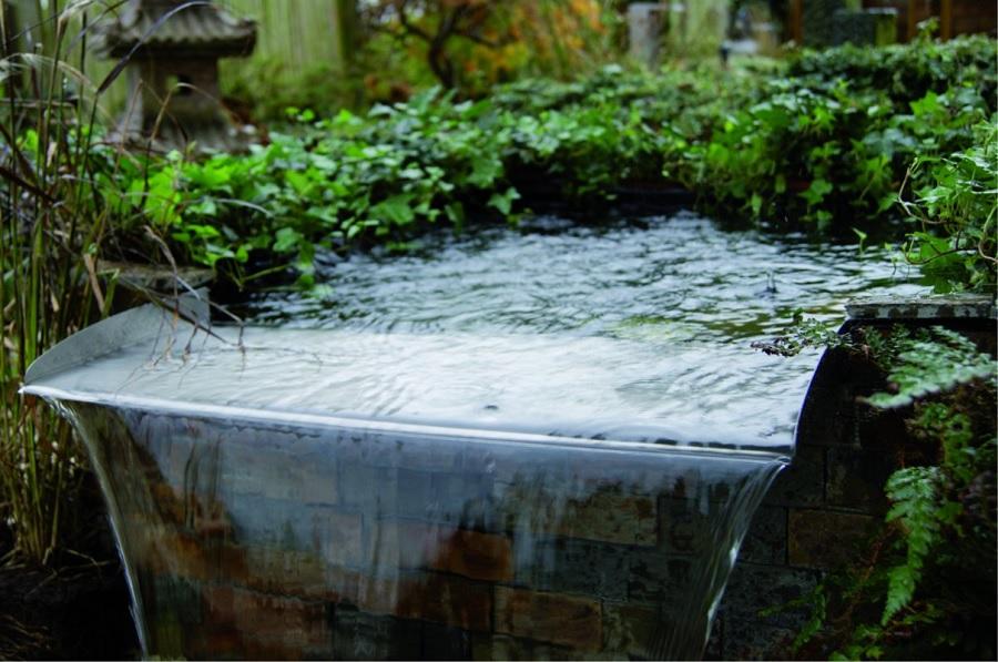 Ongekend Mooiste waterval voor vijver uit RVS inspiratie en tips - AboutKoi UB-81