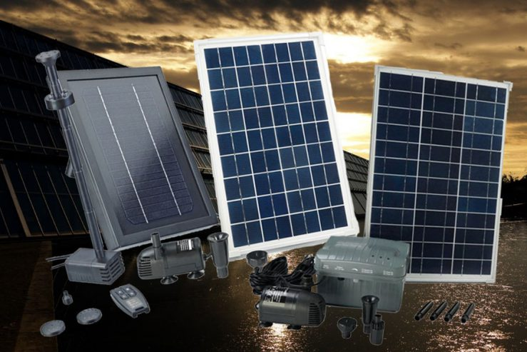 Beste vijverpomp op zonne-energie
