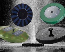 Fontein op zonne-energie en beste solar fontein