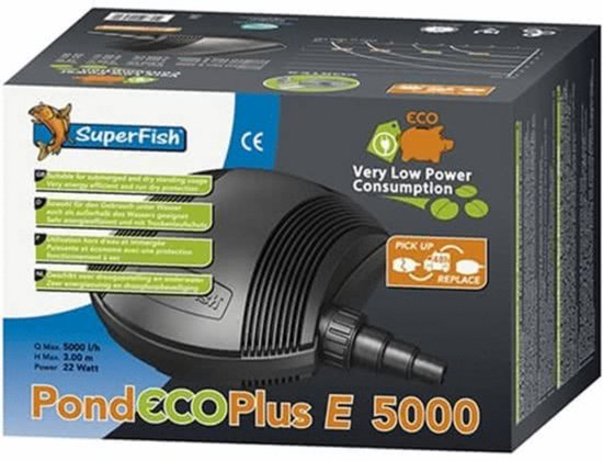 SuperFish Pond Eco Plus E 5000